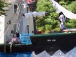The Bear River Millyard Pirate ship