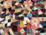 A Victorian crazy quilt from 1889....